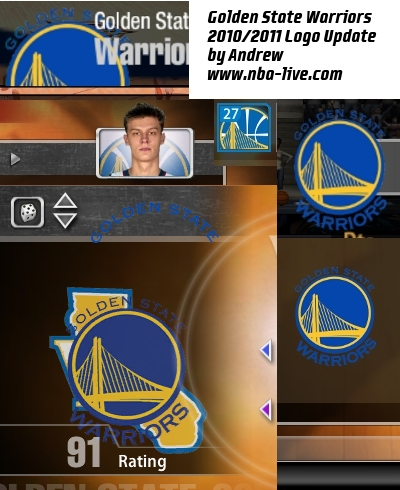 golden state warriors logo 2011. Golden State Warriors Logo