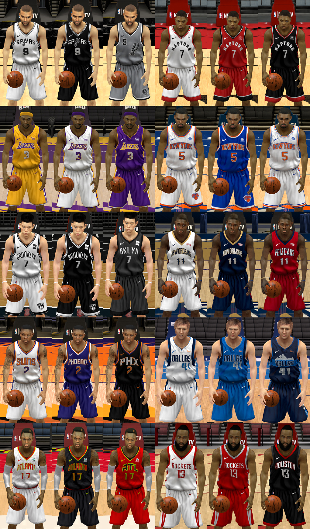 NLSC Forum • Downloads - NBA Nike Uniforms Part 2 a4186c01e