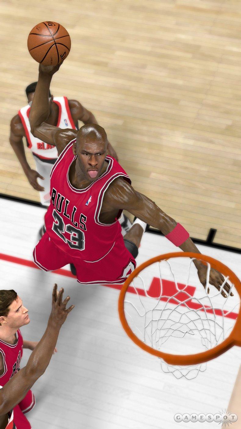 NBA 2K11: Michael Jordan #12 | NLSC