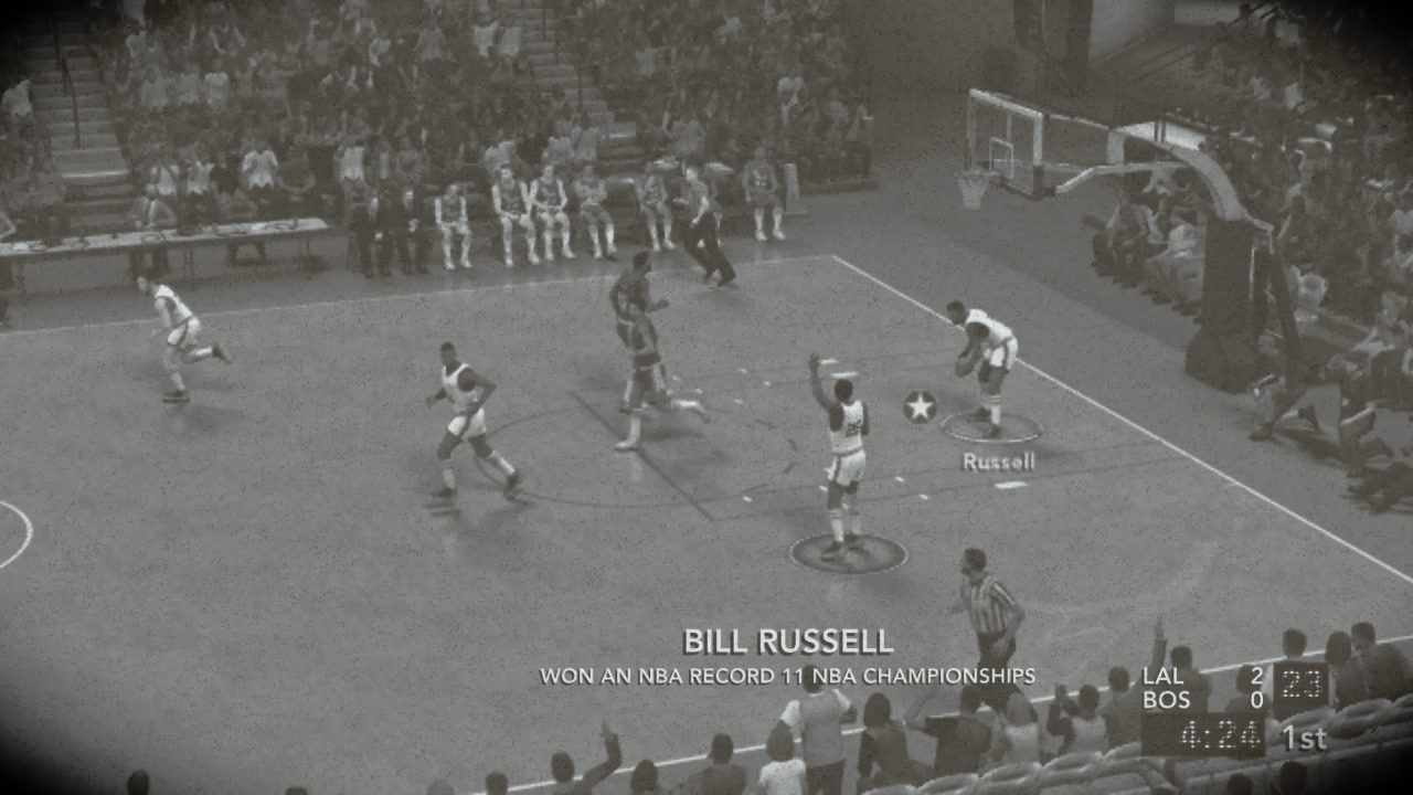 NBA 2K12: 1960s Overlays