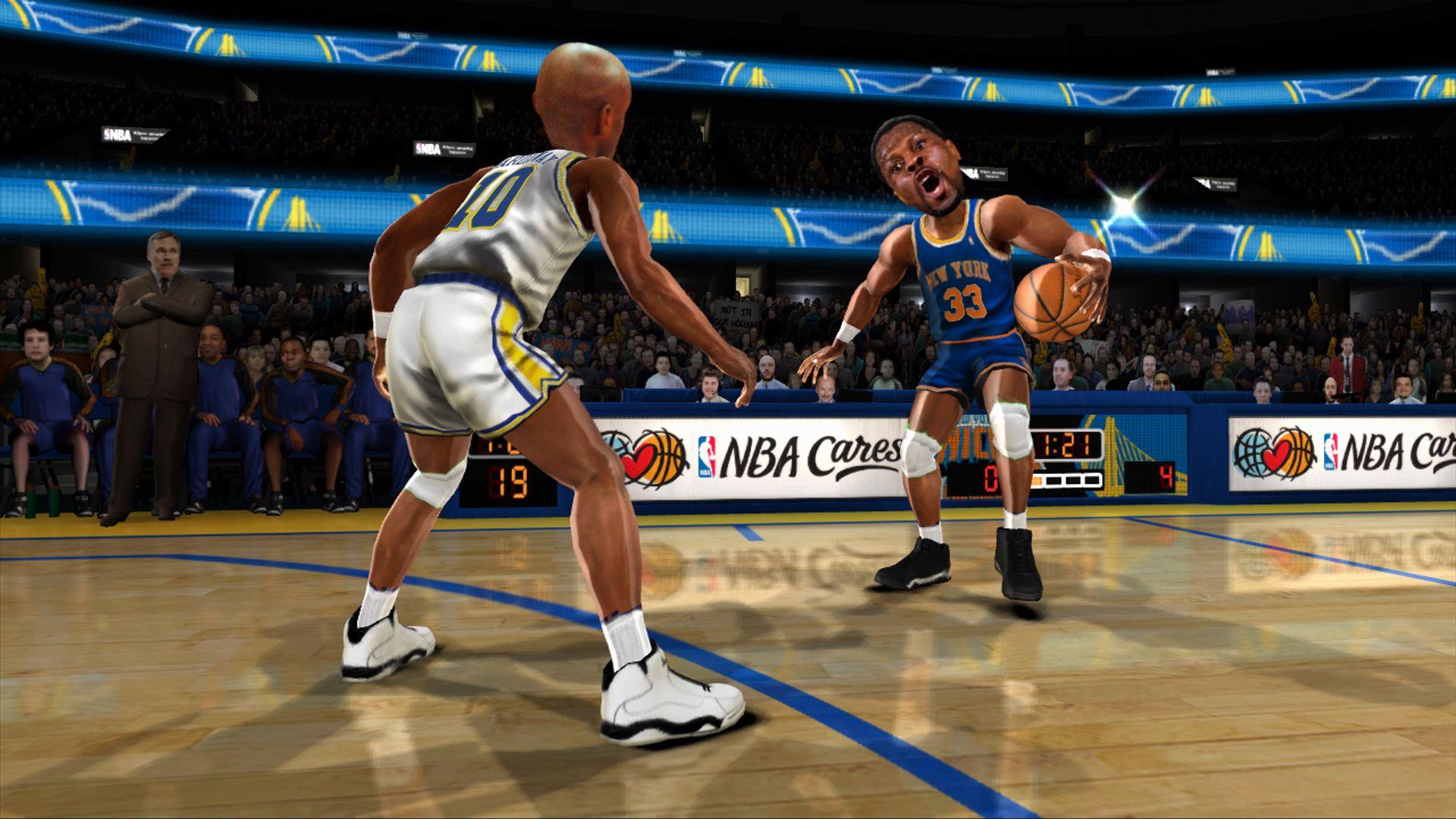 NBA Jam: On Fire Edition: Patrick Ewing   NLSC
