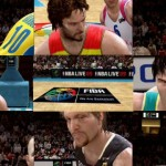 NBA Live 09 FIBA Trailer Screen