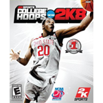 College Hoops 2K8 Cover Art