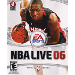 NBA Live 06 Cover Art Xbox 360