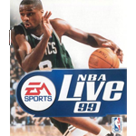 NBA Live 99 Cover Art