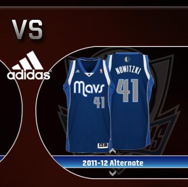 release date 0c0fd 353ac Small Release: Dallas Mavericks 2011/2012 Alternate Jersey ...