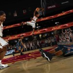 Kyrie Irving in NBA Jam: On Fire Edition