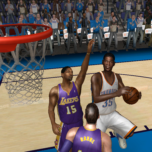 Kevin Durant in NBA Live 08