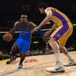 NBA Live 13 - Amare vs Pau