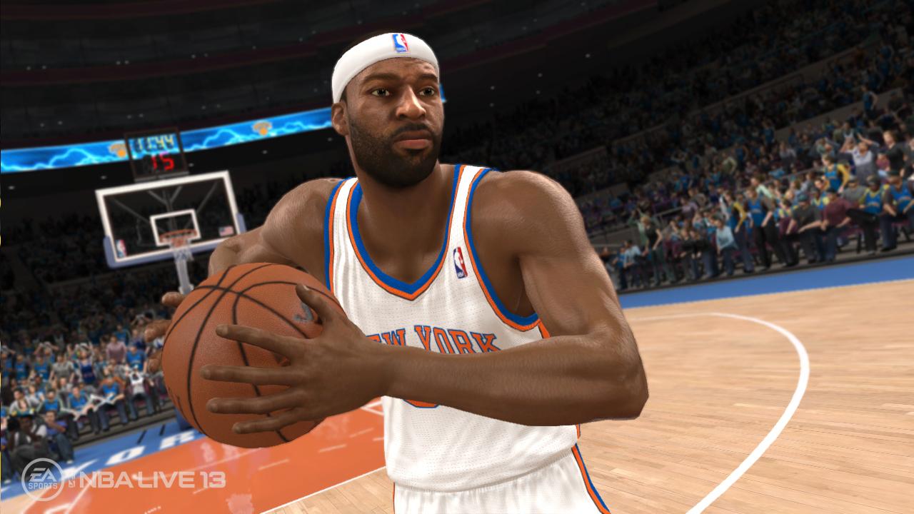 NBA Live 13 Baron Davis Close Up