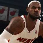 NBA Live 13 - LeBron James Close Up