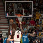 Finals MVP LeBron James in NBA 2K12