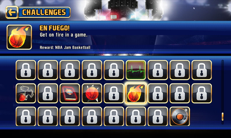 NBA Jam for Android - Jam Challenges