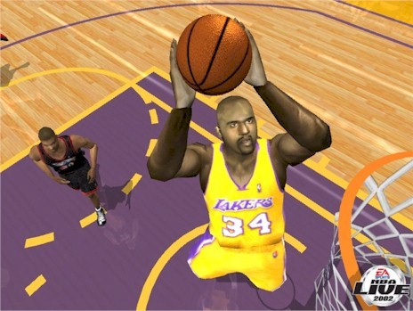 Nba live 2002 shaquille o 39 neal nlsc for Where does shaq live