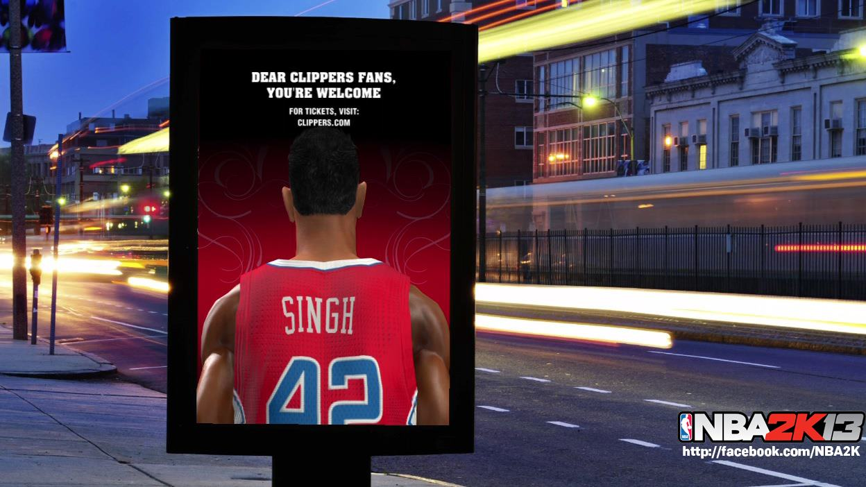 "NBA 2K13 - ""You're Welcome"" Billboard in MyCAREER"