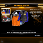 NBA 2K13 Adidas Winter Court Collection