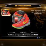 Nike KD Vs in NBA 2K13