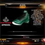 Under Armour Torch in NBA 2K13