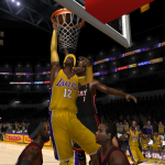 Dwight Howard on the Lakers in the NBA Live 08 Roster Update
