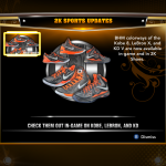 NBA 2K13 Roster Update - Black History Month Shoes