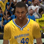 New Warriors Alternate Jersey in NBA 2K13