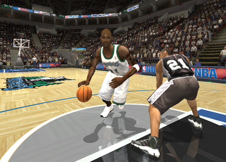 Kevin Garnett in NBA Live 2004