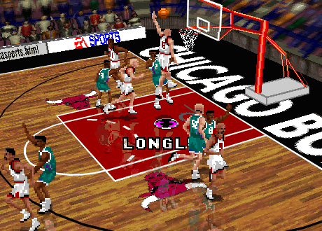 Luc Longley in NBA Live 96