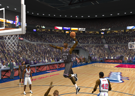 Darius Miles in NBA Live 2003