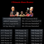 Ultimate Base Roster V47