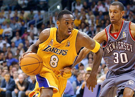Kobe Bryant in the 2002 NBA Finals