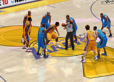 NBA Finals in NBA Live 10