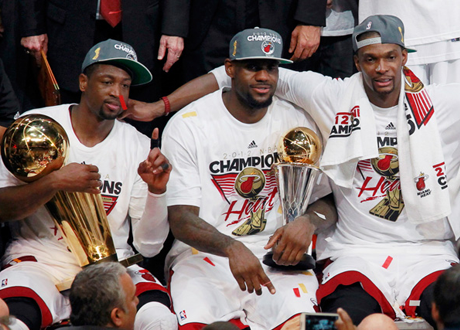 The Miami Heat's Big Three, 2012 NBA Champions