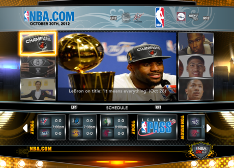 Association Mode in NBA 2K13