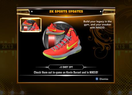 Shoe Updates In Nba 2k13