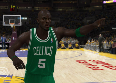 Kevin Garnett in NBA Elite 11