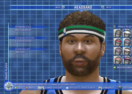 NBA Live 06 Create-a-Player