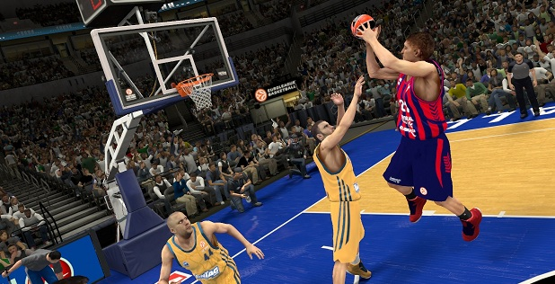 NBA 2K14: Euroleague Screenshot