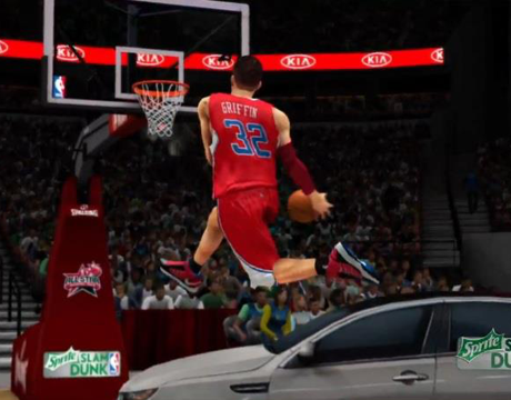 Blake Griffin in NBA 2K13's Dunk Contest