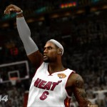 NBA 2K14: LeBron James Shooting