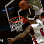 NBA 2K14: LeBron James Dunking