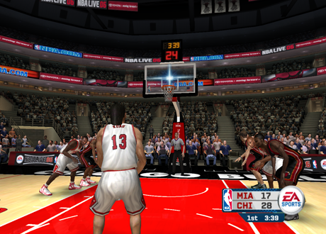 Free Throw Shooting in NBA Live 06