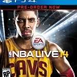 NBA Live 14 PlayStation 4 Pre-Order Cover