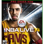 NBA Live 14 Xbox One Pre-Order Cover