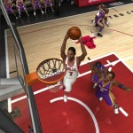 Ben Gordon dunks in NBA Live 06