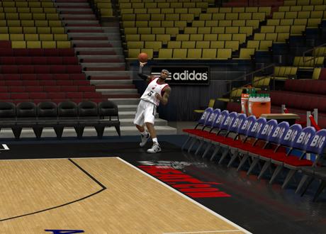 LeBron heaves from fullcourt in NBA 2K13