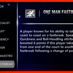 NBA 2K14: One Man Fastbreak Signature Skill