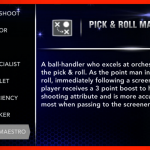 NBA 2K14: Pick & Roll Maestro Signature Skill