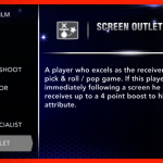 NBA 2K14: Screen Outlet Signature Skill