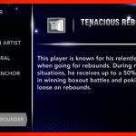 NBA 2K14: Tenacious Rebounder Signature Skill