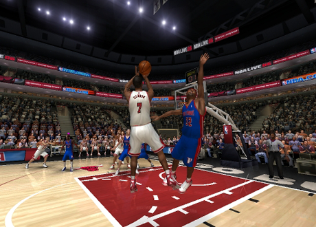 Jumpshot by Ben Gordon in NBA Live 06